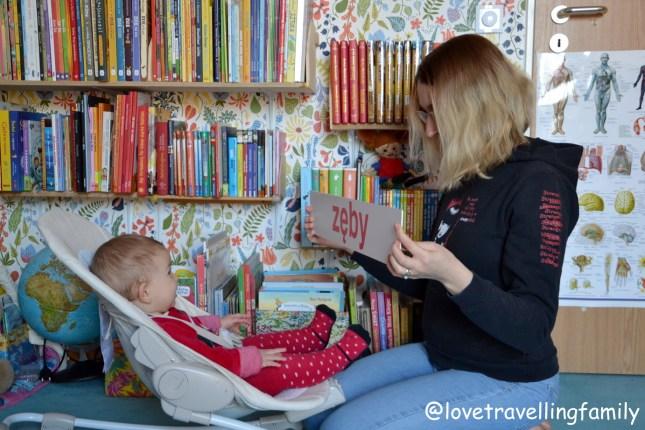 Nauka czytania metodą Domana dla niemowląt. Czytanie globalne z high-need baby