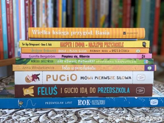 Książki o przedszkolu, które pomagają w adaptacji przedszkolnej