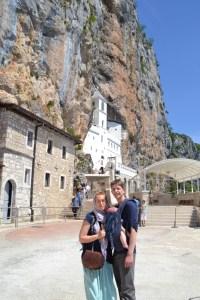 lovetravellingfamily in Ostrog Monastery
