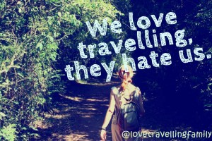 we love travelling