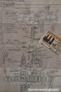 Ale's map, Casa Mirador, Havana