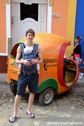 Coco-taxi in Trinidad, Cuba
