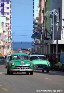 Collectivos Malecon Havana