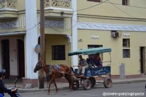 Horse taxi, CIenfuegos, Cuba