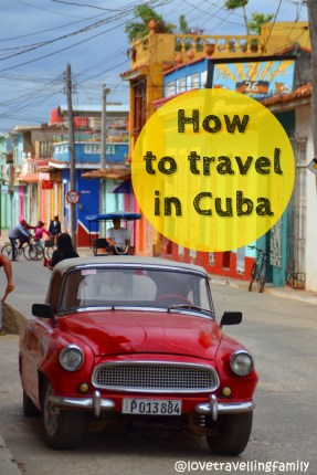 How to travel in Cuba