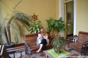 lovetravellingfamily in Casa Israel, Havana