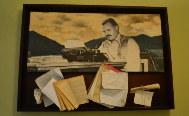Hotel Ambos Mundos, Hemingway