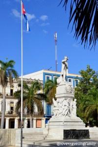 José Martí,Parque Central, Havana