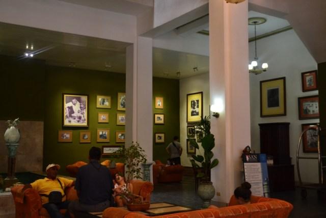 Lobby at Hotel Ambos Mundos,Havana