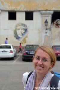Love travelling family and the Lonely Planet Che, Havana