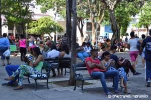 Parque Fe del Valle, Havana