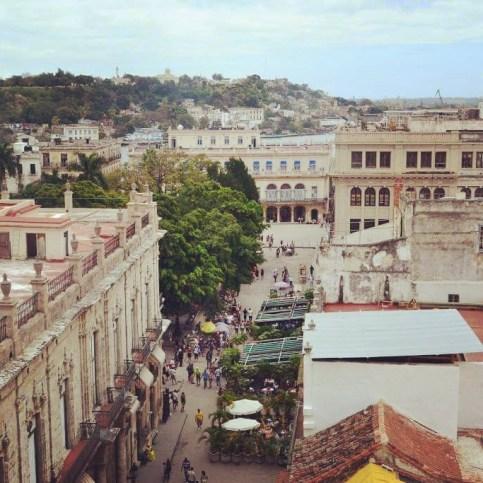 View from Hotel Ambos Mundos