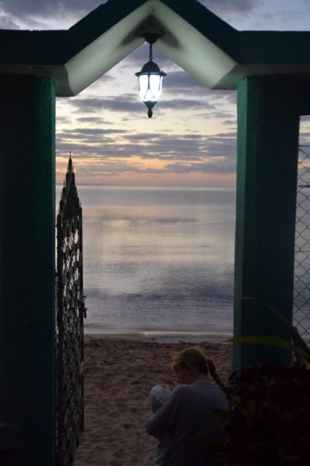 After hard night come hope, Sunrise, Cuba