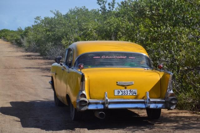 Old Cuban car, Cuba