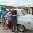 Our colectivo, Love travelling family in Cuba