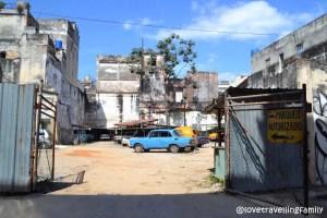 Parking, Old Havana