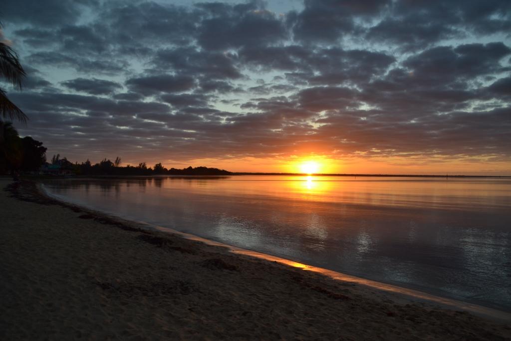 Sunrise Playa Larga Cuba
