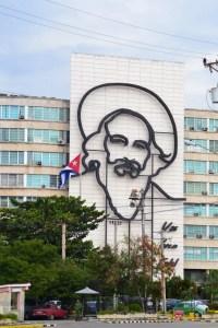 Plaza de la Revólucion, Camilo Cienfuegos
