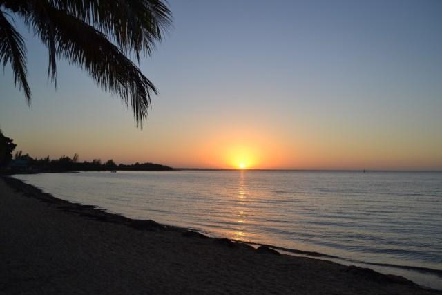 Sunrise at Playa Larga, Cuba