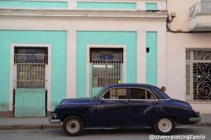 Colorful streets, Cienfuegos, Cuba