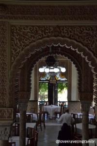 Restaurant in Palacio de Valle, Cienfuegos