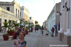 Some random street, Love travelling family in Cienfuegos, Cuba