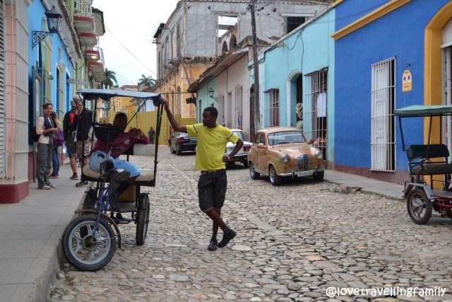 Bici-taxi, Trinidad, Cuba