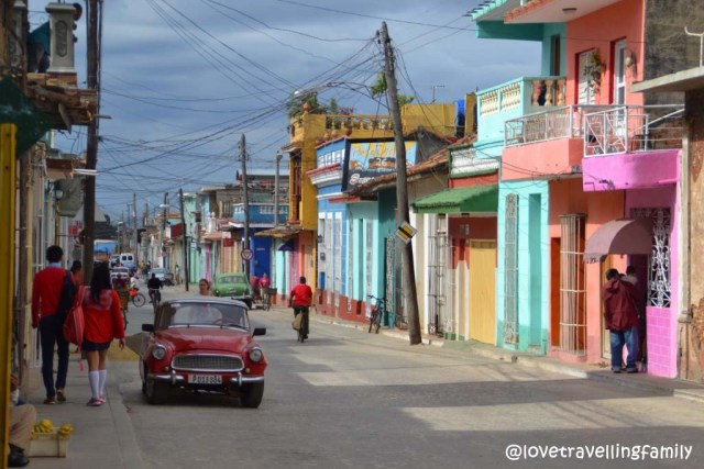 Colorful Trinidad in Cuba