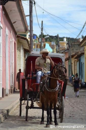 Cowboy's lunch, Trinidad, Cuba