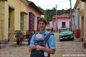Love travelling family,walking tour of Trinidad, Cuba
