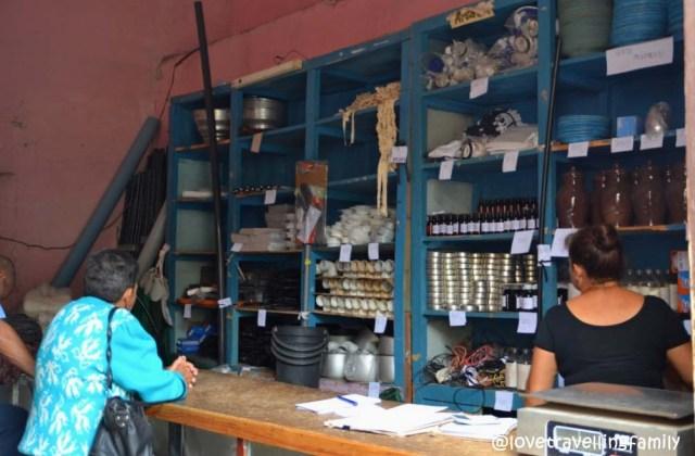 Shop in Trinidad, Cuba