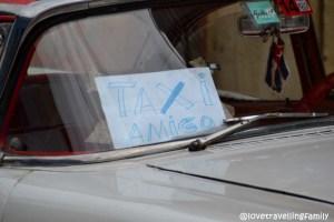 Taxi amigo,Trinidad, Cuba