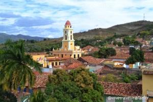 Trinidad, Cuba from tower of Museo Histórico Municipal