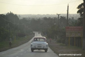 On the road, Santa Clara, Cuba