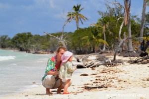 Love travelling family, Playa Las Salinas