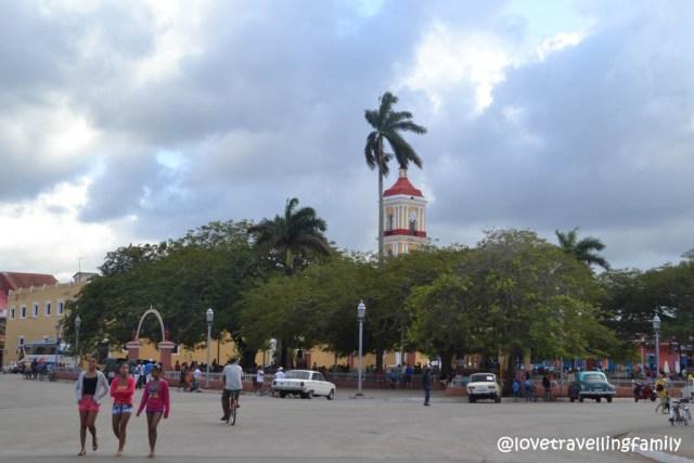 Parque Marti, Remedios, Cuba