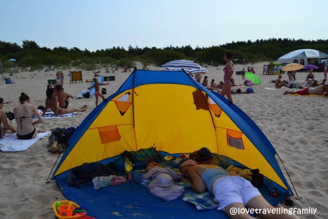 Sleeping in Lithuania, Love travelling family
