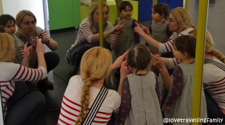Love travelling family @ Children's Museum, Deutsches Hygiene-Museum, Dresden