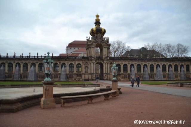 Zwinger in Dresden, Germany