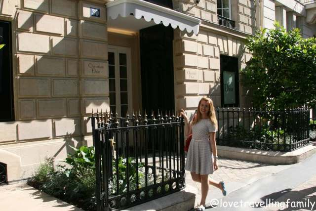 30, Avenue Montaigne, a legendary address The House of Dior, Paris