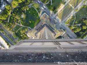 The Eiffel Tower, different perspective