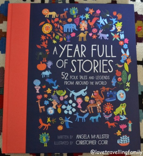 A Year Full of Stories 52 Folk Tales And Legends From Around The World, Angela McAllister, book cover