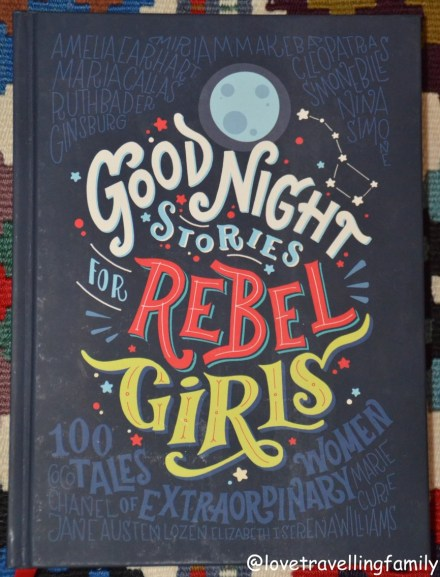 Good Night Stories for Rebel Girls, cover