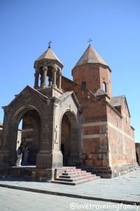 Monastery Khor Virap in Armenia