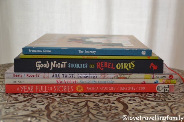 The Best Children's Books by Love travelling family