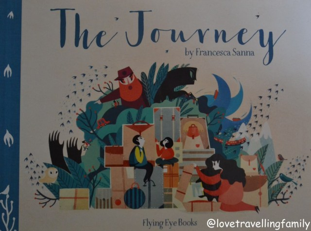 The Journey by Francesca Sanna, cover