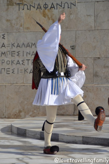 Changing of the Greek Presidential Guard