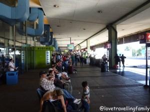 Retiro bus Station, Buenos Aires