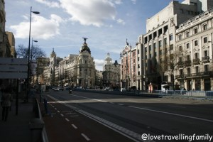 Edificio Metrópolis and Gran Via, Madrid, Spain