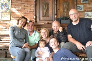 Love travelling family with the hosts and Polish crew at Sun Guest House, Kutaisi, Georgia